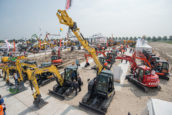 Europese markt voor bouwmaterieel bereikt hoogtepunt