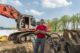 Machinist van de maand MEI: Leen de Groot en zijn Liebherr 944