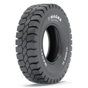 Magna introduceert de  MA04+ OTR band voor starre dumptrucks. Deze nieuwe radiaalband, met een zogenoemd E4-profiel, is specifiek ontworpen voor dumptrucks die draaien in de bovengrondse mijnbouw.