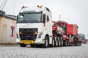 160-tons Volvo FH16 10×4 trekker voor Koole Contractors