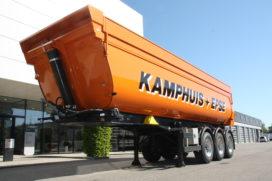 Meiller asfaltkipper voor geavanceerd asfalttransport