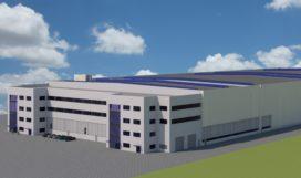 Liebherr bouwt nieuw logistiek centrum in Kirchdorf