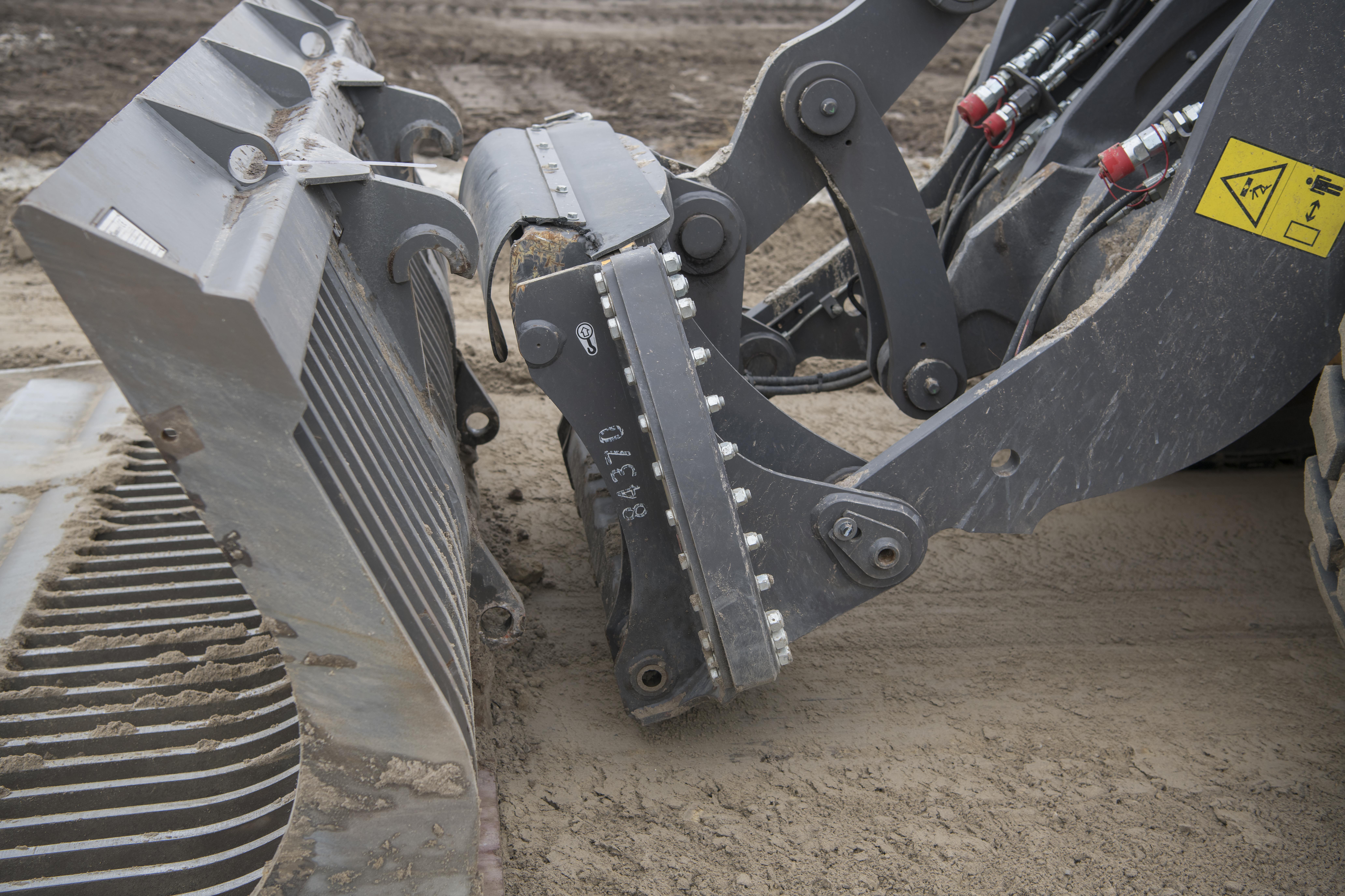 <p>De snelwissel maakt de machine uiterst flexibel qua inzet.</p>