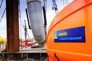 Riwal levert duizendste machine aan Arentis