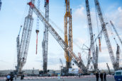 Liebherr introduceert 800-tons LR 1800-1.0 rupskraan