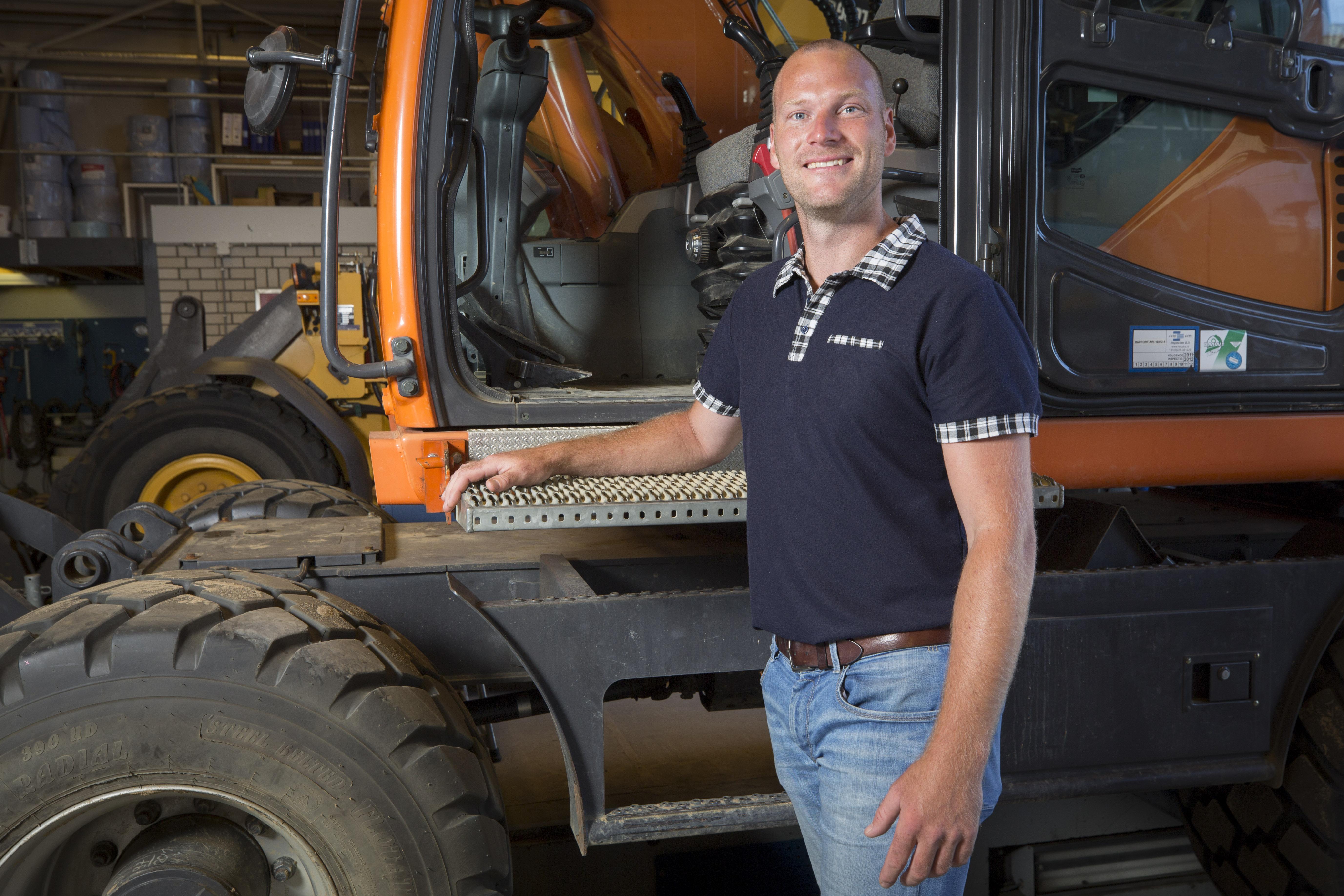 <p>Daniël Stronks is één van de aanjagers van het project Professionalisering Graven, waarin het SOMA College samenwerkt met de Universiteit Twente. </p>