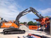 Rotar levert twee nieuwe sloop-/sorteergrijpers aan Boverhoff