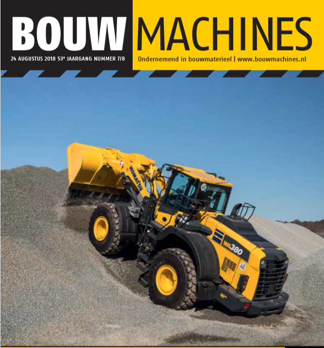 BouwMachines editie 7/8-2018