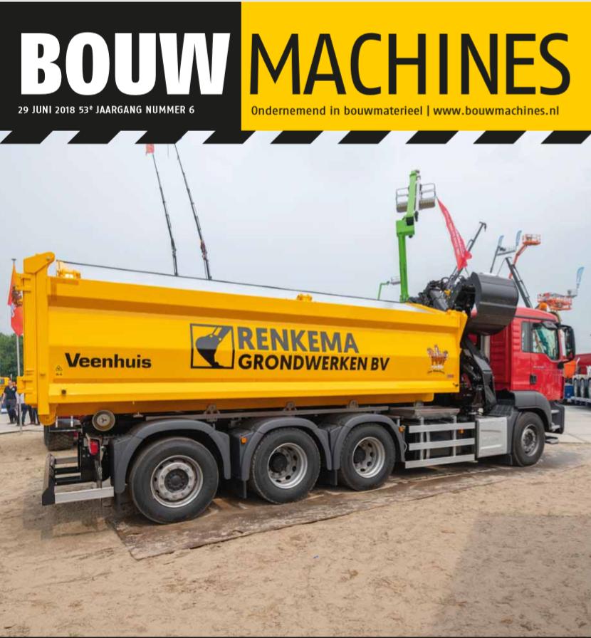 BouwMachines editie 6-2018