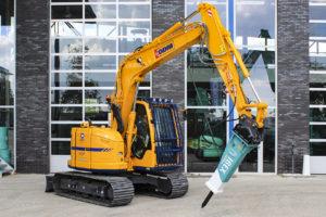 DDM neemt Kobelco SK75SR in gebruik