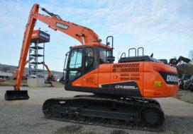 Doosan lanceert nieuwe versie DX225LC-5