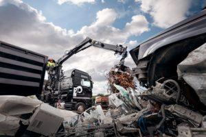 Hiab vernieuwt Jonsered recyclingkranen