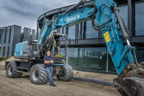 Machinist van de maand september: André Bergevoet en zijn Hitachi ZX170W-3