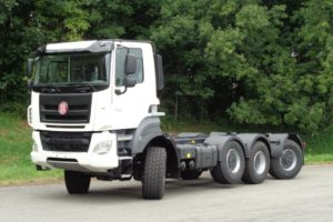 Presentatie Tatra Phoenix 8×6/6 op Transport Compleet