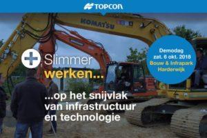 6 oktober; Topcon Demodag Machinebesturing