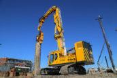 Na jaar lang verbouwen is de Doosan 380 LC-5 een funderingsmachine