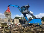 Afvalverwerker Virol Scheemda neemt nieuwe Fuchs MHL320F in gebruik