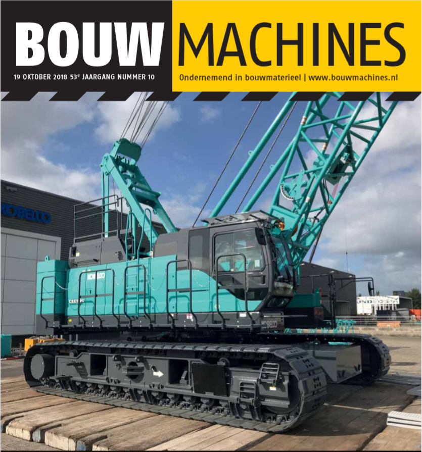 BouwMachines editie 10-2018