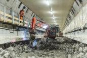 Maastunnel weer open na grondige renovatie