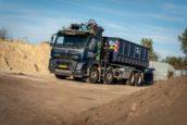 Jaar na overname: Heerbaart Transport en Grondverzet vernieuwt vloot met Volvo-trucks