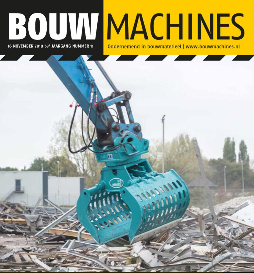 BouwMachines editie 11-2018