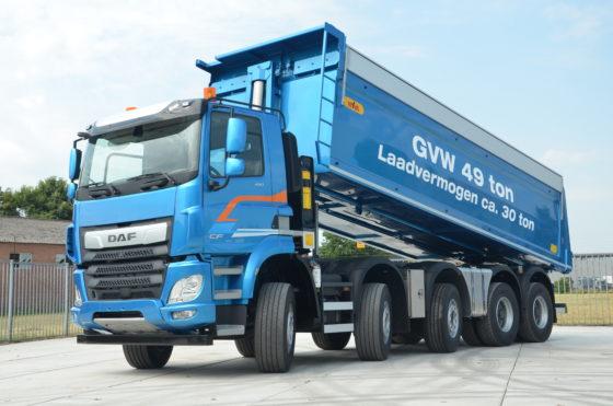Meer focus op de bouw bij DAF Trucks