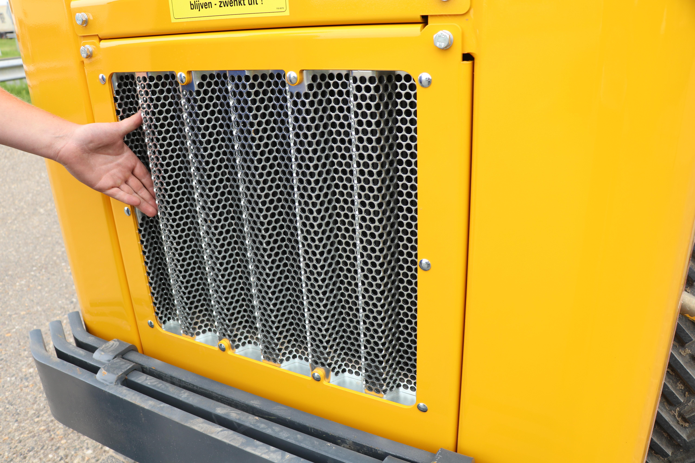 Meer koeling, minder stof, dankzij de vernieuwde grille.