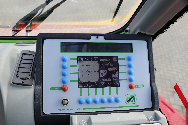 Het Merlin interactief digitaal scherm.