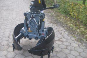 Kinshofer C18VE grijper nu ook met ronde schalen