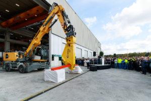 Liebherr opent nieuw ontwikkel- en democentrum in Kirchdorf