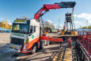 Volvo FH 10×4 zwaartransport truck voor Zwagerman Transport & Hijswerk