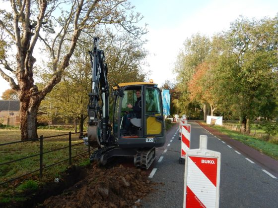 Volvo EC35D voor WMV Man/Machineverhuur