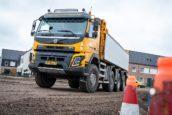 Mourik Infra voegt vijf Volvo-bouwtrucks toe aan de vloot