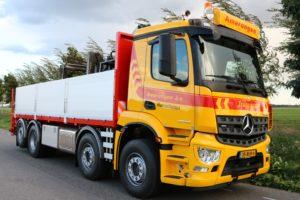 Amerongen neemt Mercedes-Benz Arocs in gebruik voor transport van stenen