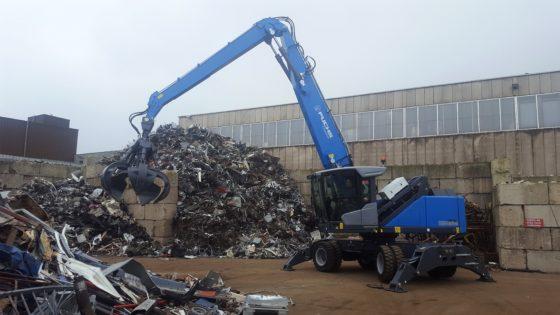 Achtste Fuchs voor Van Houtum Recycling Arnhem