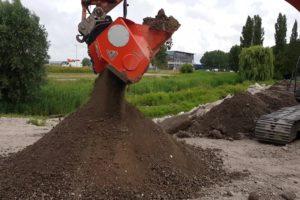 Gerlasco ontwikkelt de Recycle Bucket: zeefbak en verkleinbak ineen