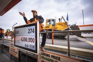 Materieelveiling Ritchie Bros. levert ruim 42 miljoen euro op