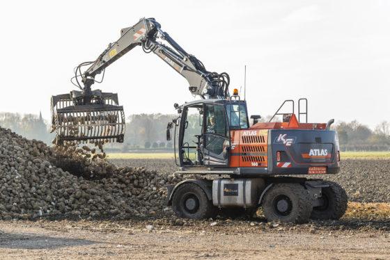 Kees van Etten zet nieuwe Atlas 160W direct in bij bietencampagne (met video)
