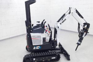 Bobcat komt met elektrische variant 1-tons E10