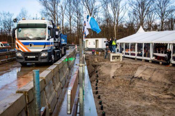 Vrijbloed heeft de primeur: de eerste elektrische vrachtwagen in de bouw