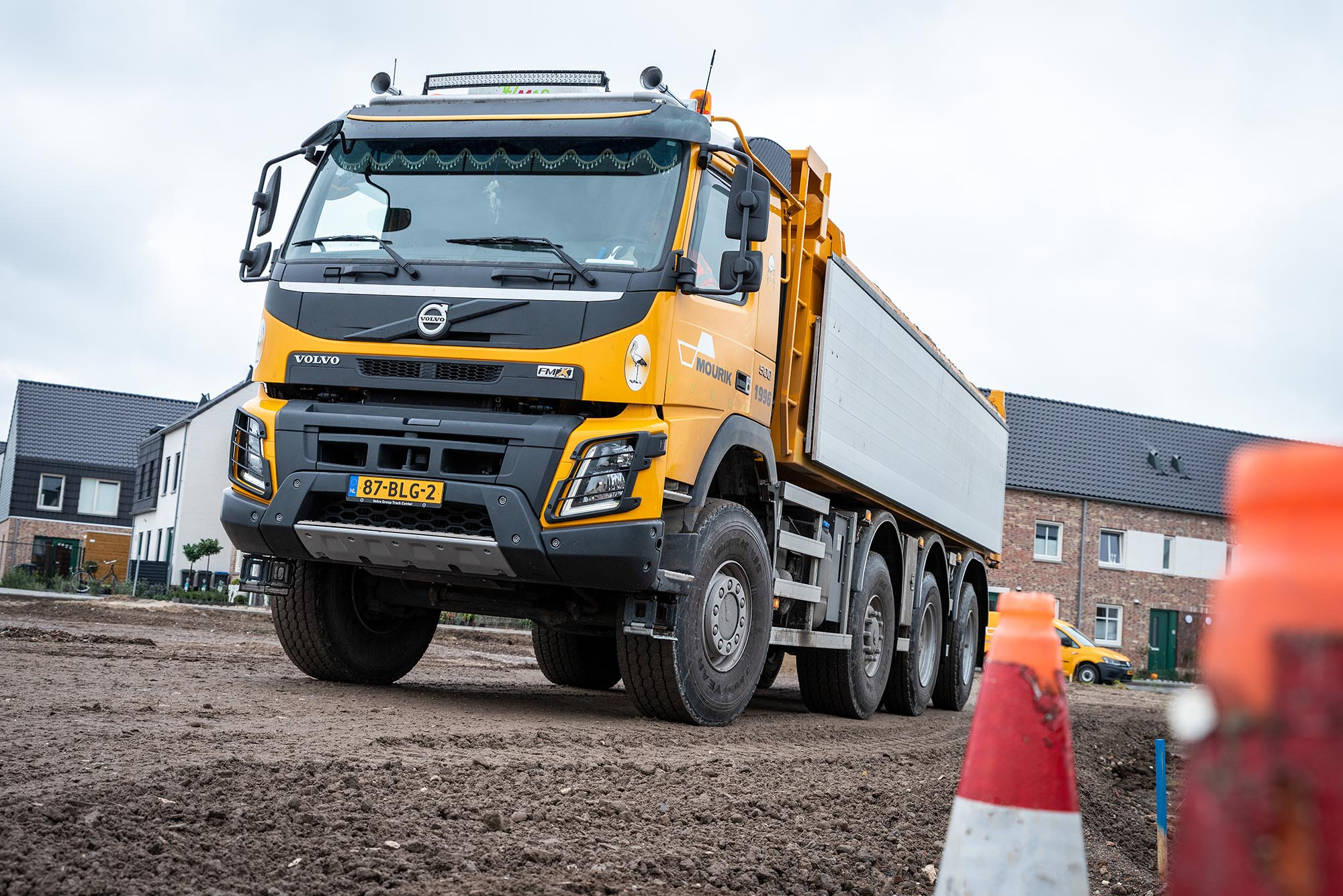 Volvo FMX bouwvoertuig