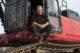Machinist van de maand januari: Peter Bekker en zijn Komatsu PC490HRD-10