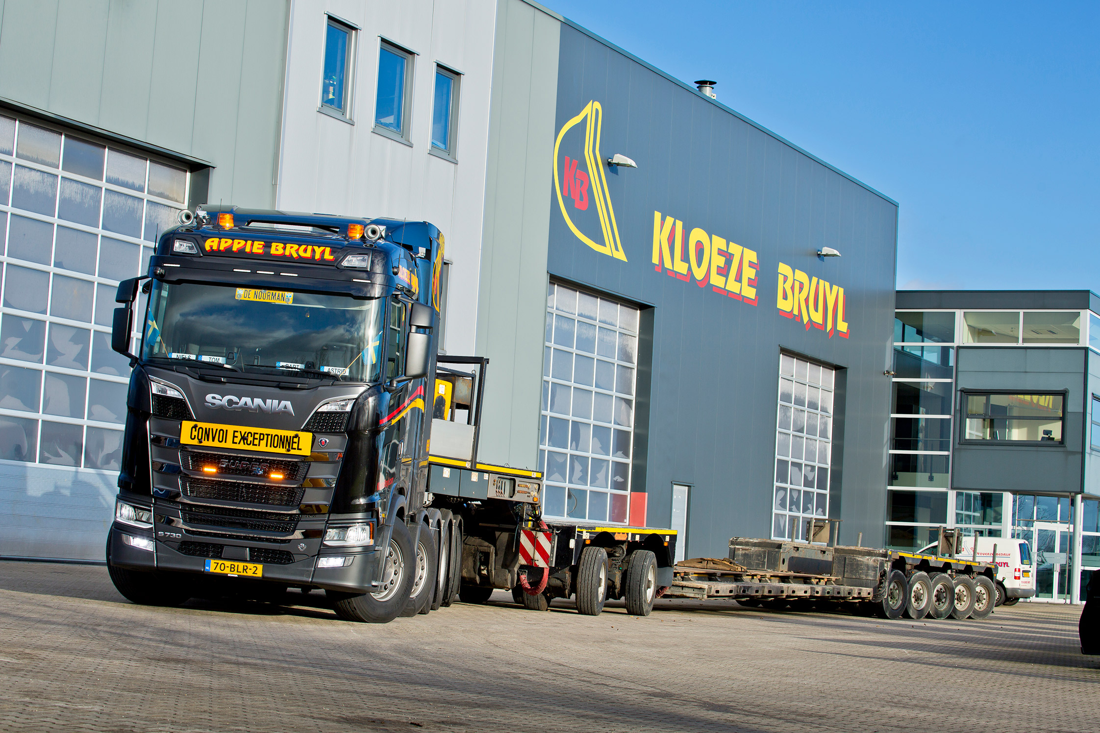 Scania V8 zwaartransport