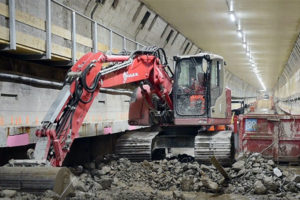 VIDEO | Sloopwerk aan de Maastunnel