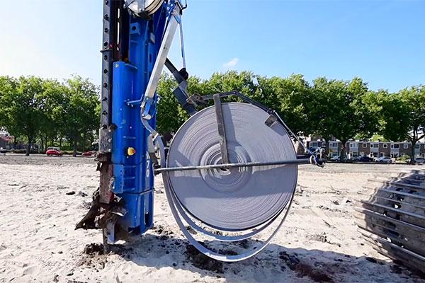 Zeer VIDEO | Verticale drainage - BouwMachines JE79