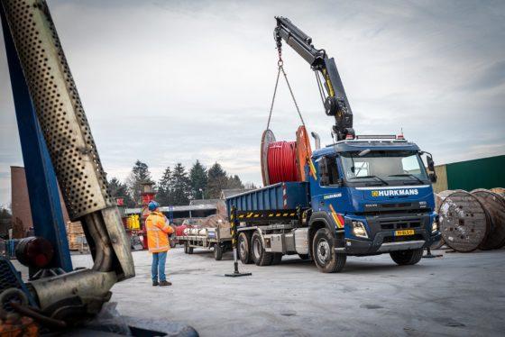 Volvo FMX 6×2 met X-Track voor Aannemersbedrijf Hurkmans