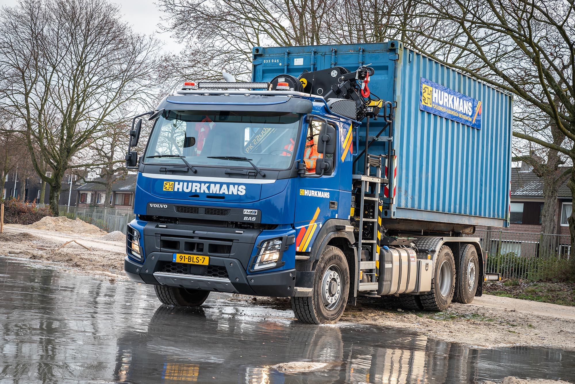 Volvo FMX met X-Track Hurkmans Someren