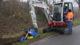 VIDEO | Sleuf graven met frees aan minigraver: 'Dit schiet tenminste op'