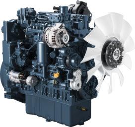Kubota V5009 motor verkozen tot 'Diesel of the Year'