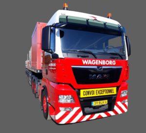 MAN truck Wagenborg